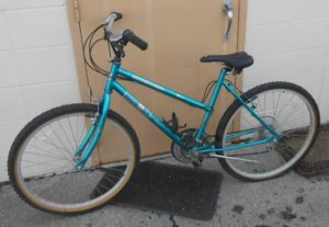 This Bike was found in town on 04/29/15. case 2015-0119